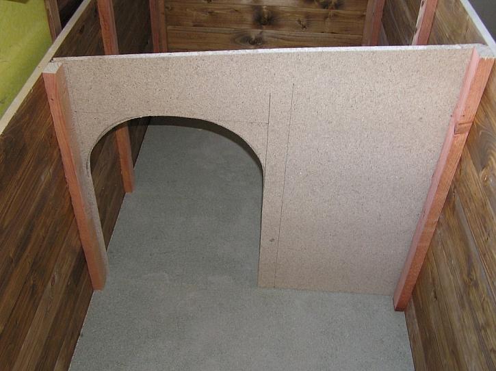 Stavba psí boudy