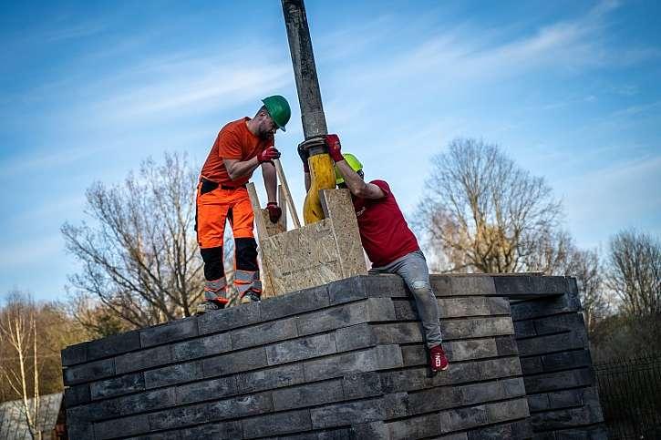 Vylévání betonem
