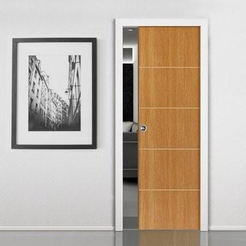 Stavební pouzdra Eclisse jednokřídlá a dvoukřídlá ušetří prostor