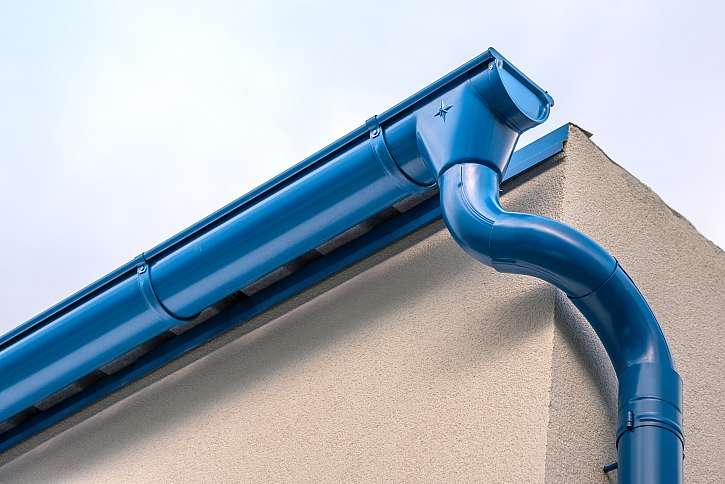Okapový systém na střeše 1