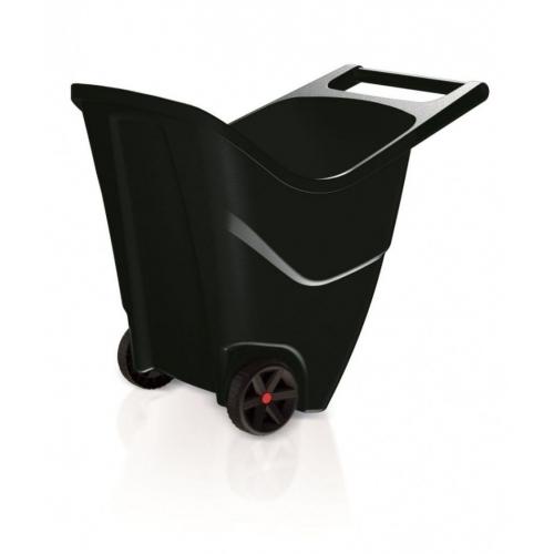 PROSPERPLAST LOAD & GO II 85L Zahradní vozík černý