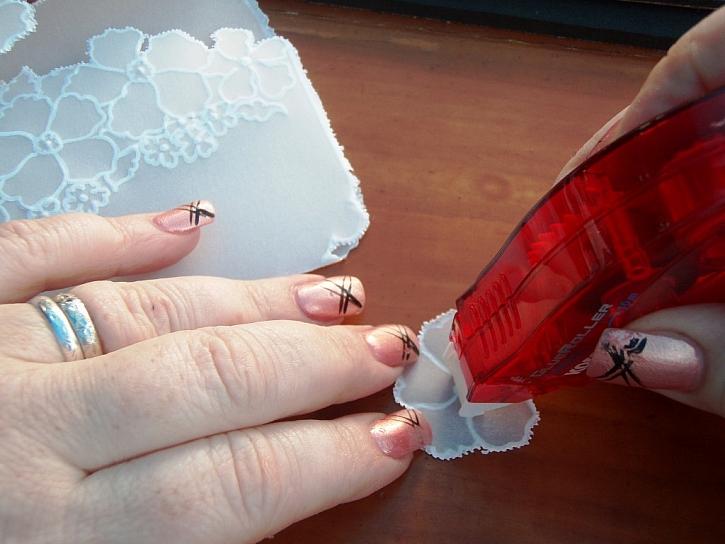 Výroba přání z pergamana