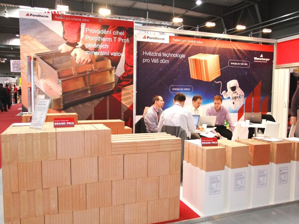 Wienerberger představí své nejnovější produkty na veletrhu IBF 2014
