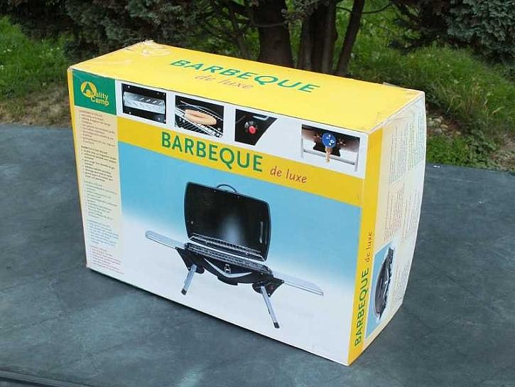 Sestavení turistického grilu Barbecue de Luxe