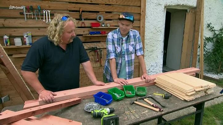 Materiál pro výrobu dřevníku