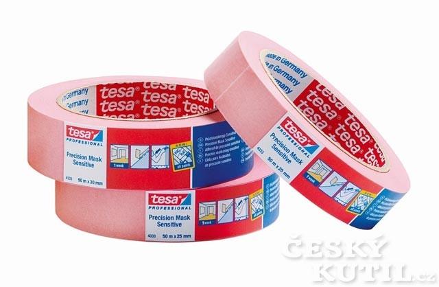 Maskovací páska na citlivé povrchy