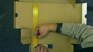 Jak vyrobit bludiště z krabice od bot