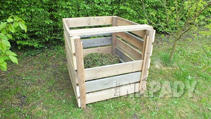 Zahradní kompostér: volba velikosti kompostéru