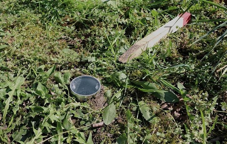 Zemní vruty jsou zavrtané, stačí nasadit sloupky