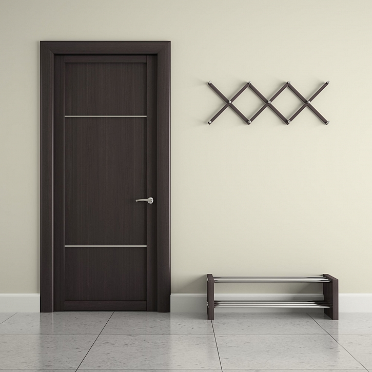 Tmavé dveře