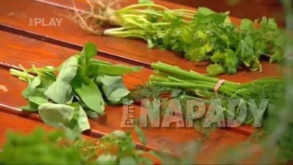 Bylinky a zelenina na podzim