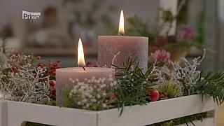 Zimní výzdoba domova či stolu nejen na poslední dny v roce