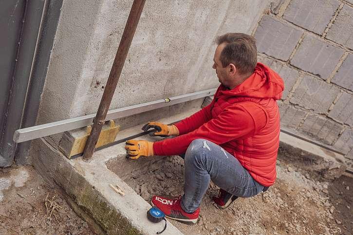 Příprava podkladu pro dlažbu