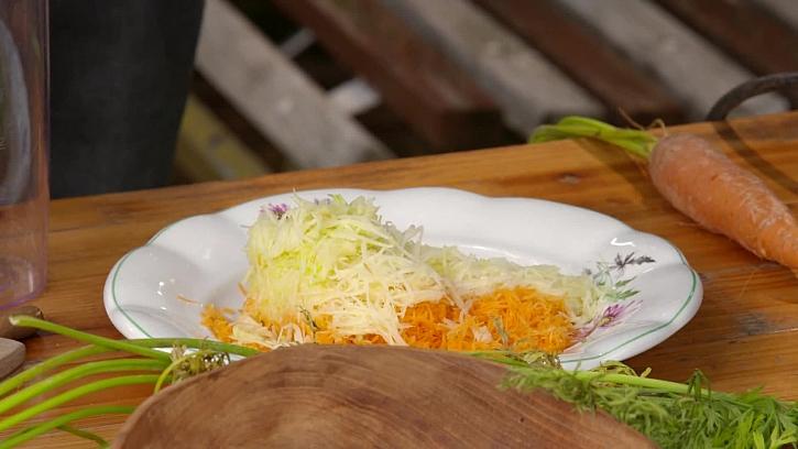 Nastrouhané zelenina