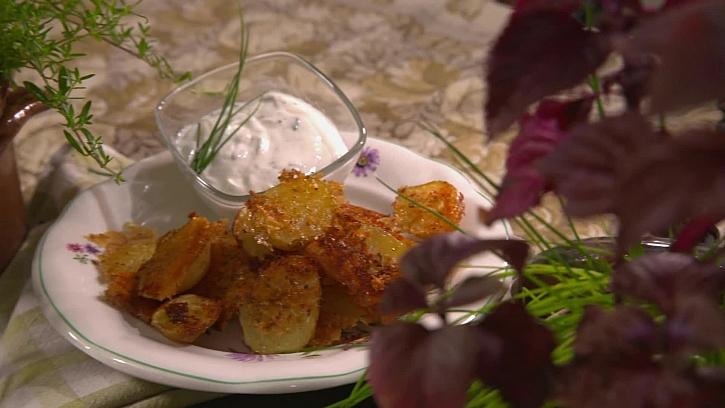 Recept na bramborové jednohubky alias pečínky