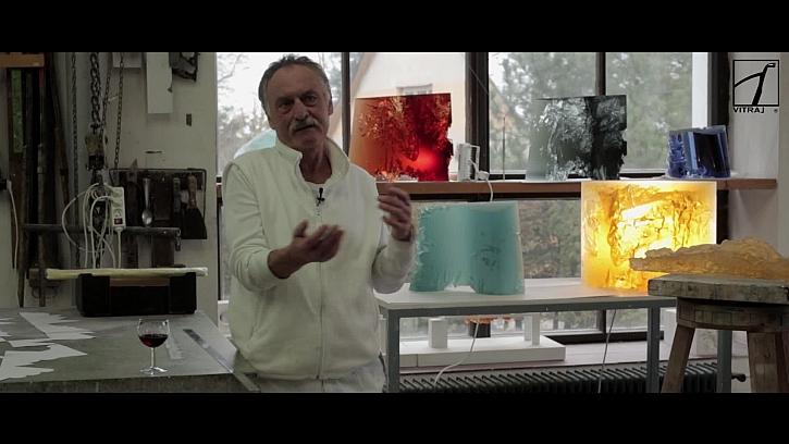 Výtvarník Jan Exnar vysvětluje