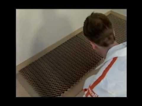 Suchá podlaha s voštinou Fermacell