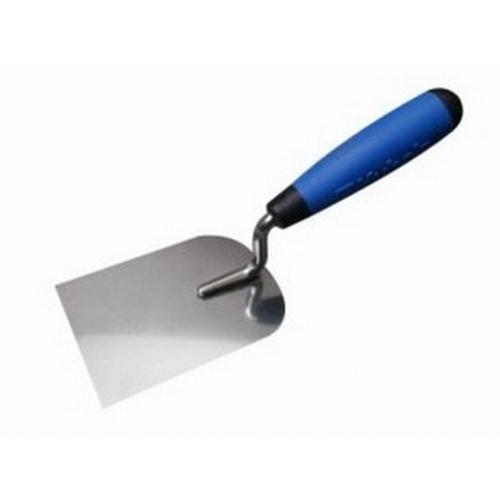 Lžíce štukatérská nerezová 60 mm, dvousložková rukojeť 0932