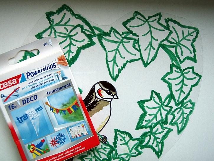 Powerstrips DECO - snadná dekorace pro vaše okno