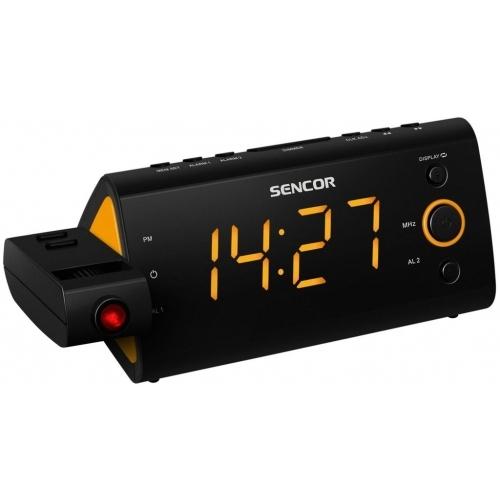 SENCOR SRC 330 OR Radiobudík s projekcí
