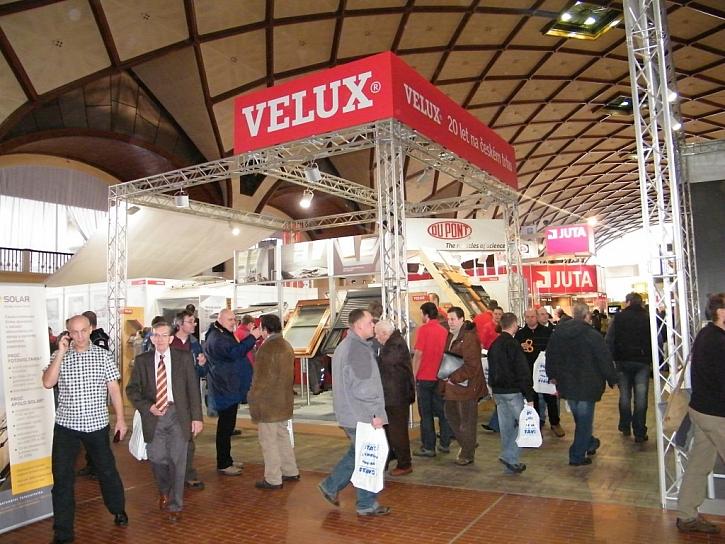 Společnost Velux si vás dovoluje pozvat na veletrh Střechy Praha