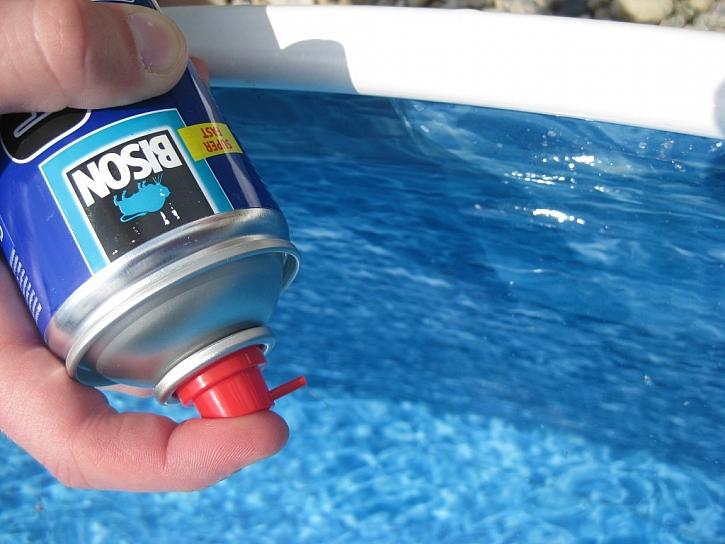 Lepení bazénu snadno a rychle