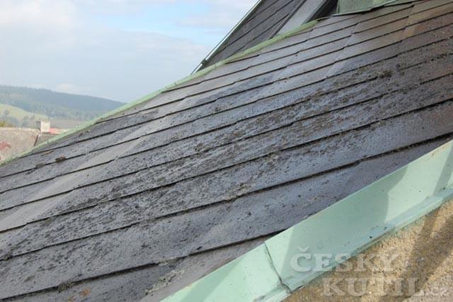 Mytí střechy: