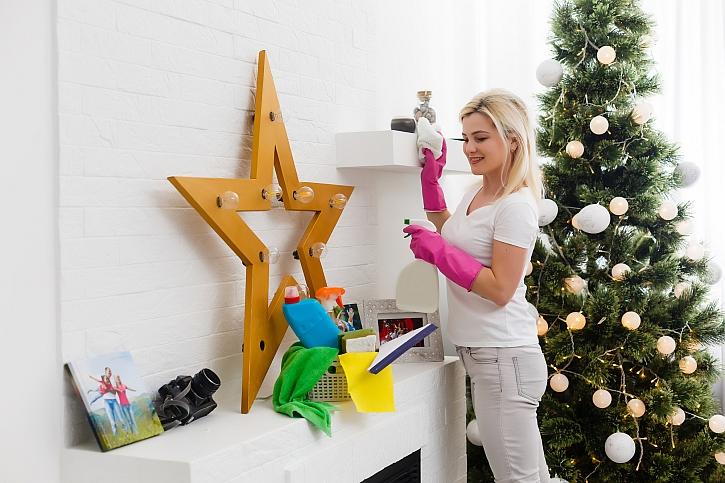 Vyhrajte velký Spontex vánoční úklidový balíček