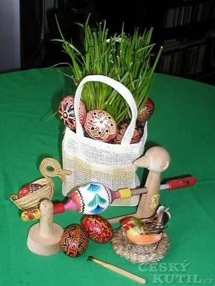 Batikovaná vejce