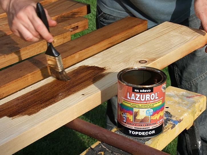 LAZUROL– obnovená krása dřeva