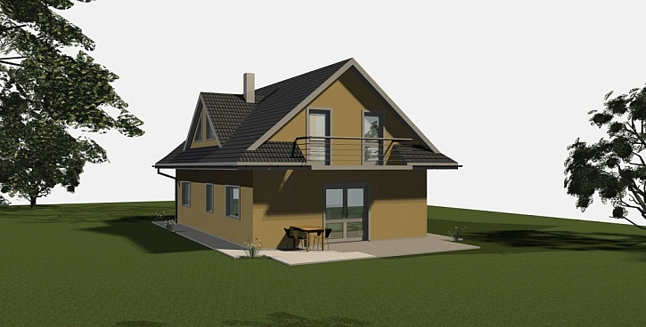 Projekt rodinného domu za 1 Kč