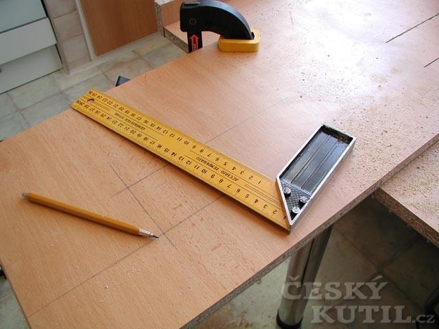 Jak vyrobit výsuvný stůl? - 2. díl.