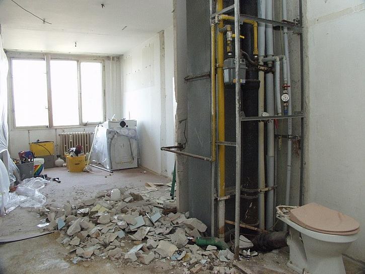 Před rekonstrukcí destrukce