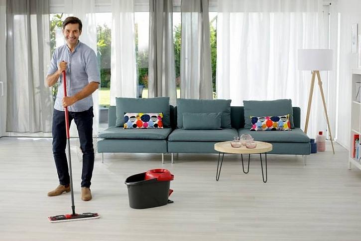 Zvládněte úklid podlahy v rekordně krátké době (Zdroj: Vileda)