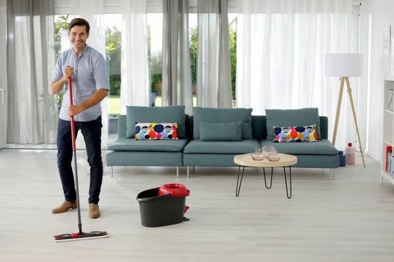 Zvládněte úklid podlahy v rekordně krátké době