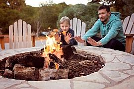 Zásady a správný postup pro stavbu vlastního ohniště