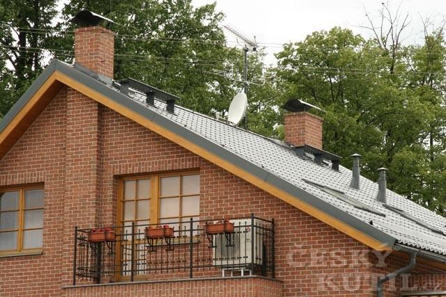 Střecha je štít a koruna pro váš dům