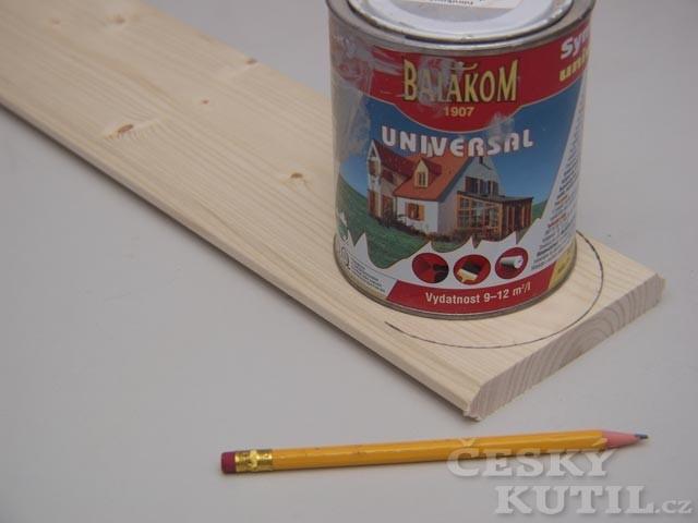 Jak vyrobit dětský metr s kolíčky aneb kdo doroste výš