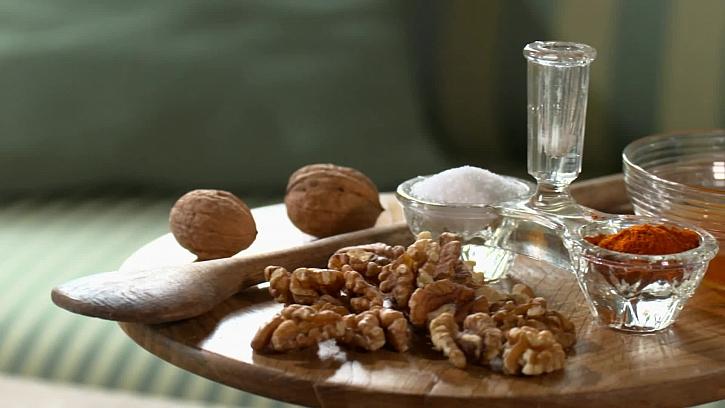 Suroviny pro ochucené ořechy