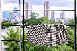 Jak sušit prádlo na balkoně?