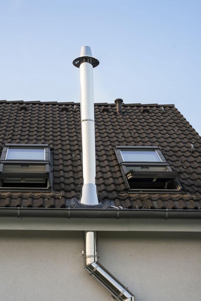 Nerezové komíny jsou velmi flexibilní a je sestavit dle vašich potřeb