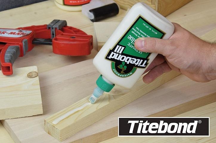 Šest rad pro lepší lepení dřeva a práci slepidly Titebond