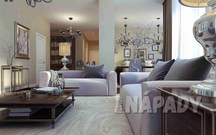 Obývací pokoj ve stylu art deco