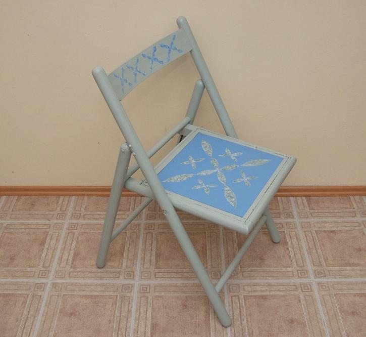 Renovace židle za pár kaček