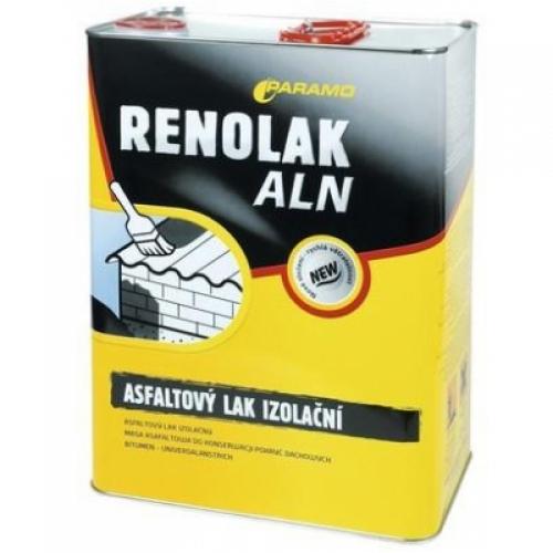 Paramo Renolak ALN asfaltový lak hydroizolační, 9 kg