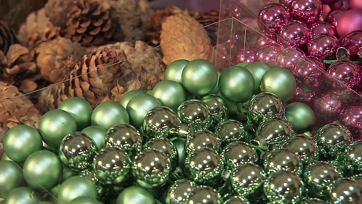 Zelená dekorace