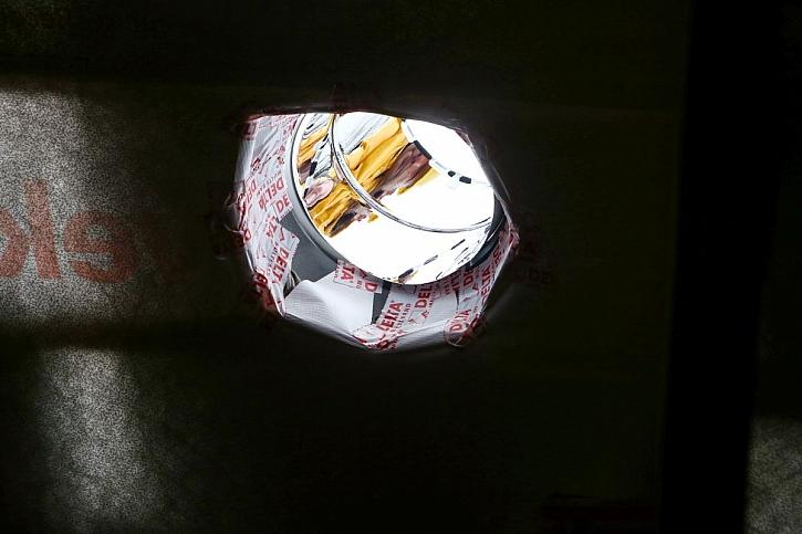 stavební otvor pro světlovod