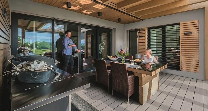 Terrace Massive Pro – terasy s povrchovou úpravou odolnou proti mastnotě