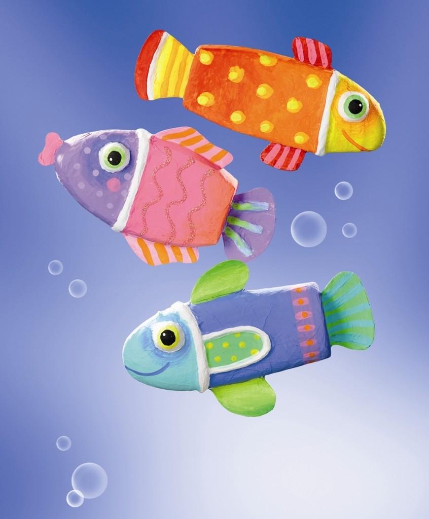 Pestrobarevné rybky