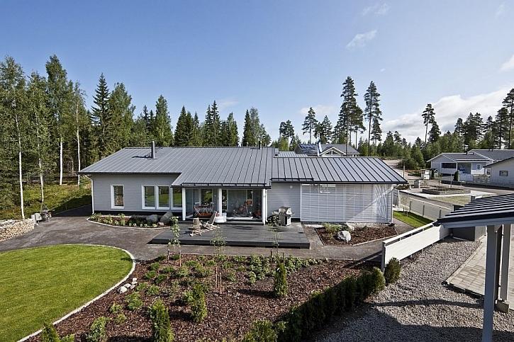 Ocelové střechy od Ruukki - inspirujte se